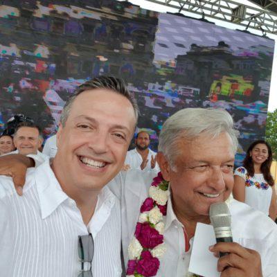 Rompeolas: Extra-Base   Servir a Quintana Roo o servil a López Obrador