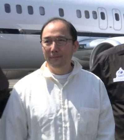 'Copelas o cuello', frase que volvió famoso al empresario chino Zhenli Ye Gon contra quien se ejerció una nueva orden de aprehensión