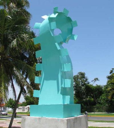 Busca el Instituto de Cultura 10 mdp para atender los corredores escultóricos de Isla Mujeres y Chetumal