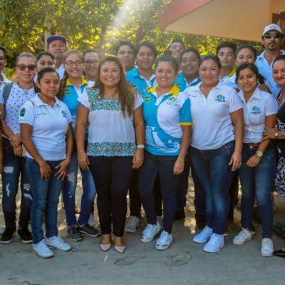 Cierra Romi Dzul en el mismo lugar donde empezó el programa 'Avanzando Juntos En Tu Escuela' en Tulum