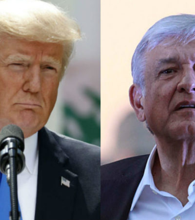Sabe AMLO que México necesita a Estados Unidos y me agrada, dice Trump a seguidores en Virginia