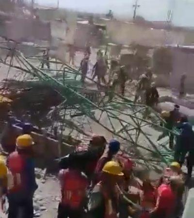 Accidente en hotel en construcción en Isla Blanca deja un muerto y un herido