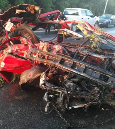 Familiares de accidentado en el Arco Vial pasan calvario para hallar donadores