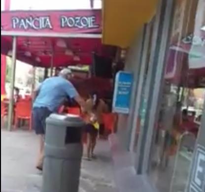 Extrajero vierte ácido junto a niña indígena en una calle de Cancún