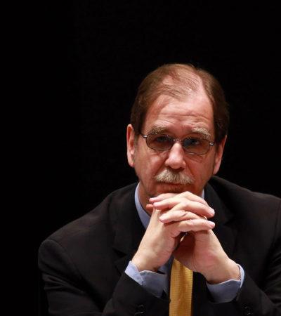 RENUNCIA BASAVE AL PRD: Dice ex presidente que no existen condiciones para que este partido renazca