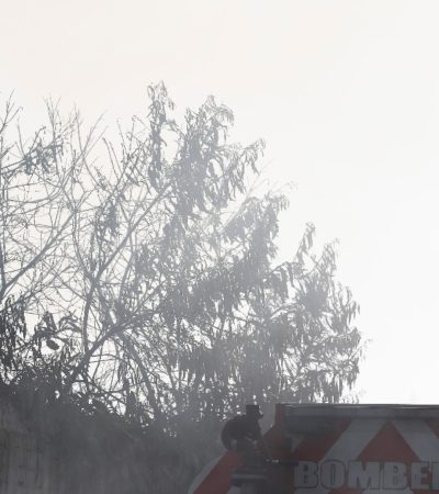 Deja incendio en toma clandestina varios heridos en Veracruz