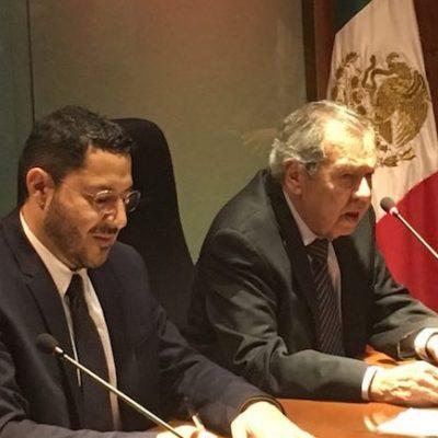 Acuerdan Batres y Muñoz Ledo que el Senado y la Cámara impulsarán las doce prioridades anunciadas por AMLO