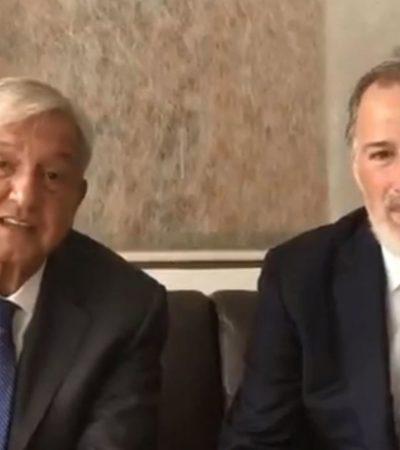 Se reúnen AMLO y Meade un día después de que el excandidato priista 'reapareciera' en redes