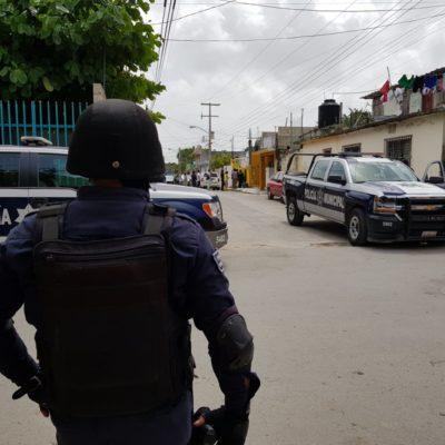 Asaltan a una mujer que acababa de retirar 300 mil pesos de un banco en Cancún y se genera fuerte movilización policiaca por celular con GPS activado
