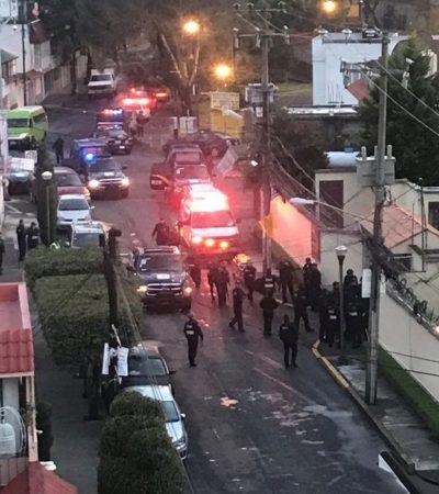 Deja 2 muertos conflicto entre vecinos de zona residencial en Coyoacán