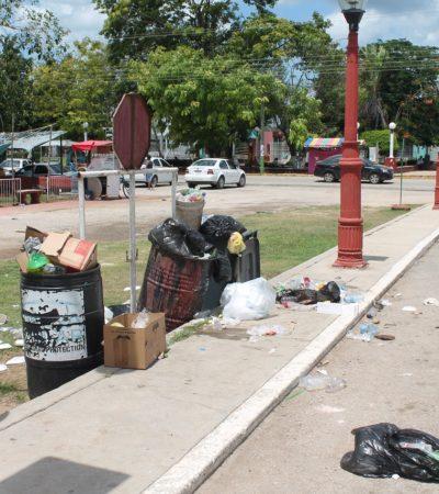 Denuncian rezago en recolección de basura en Kantunilkín