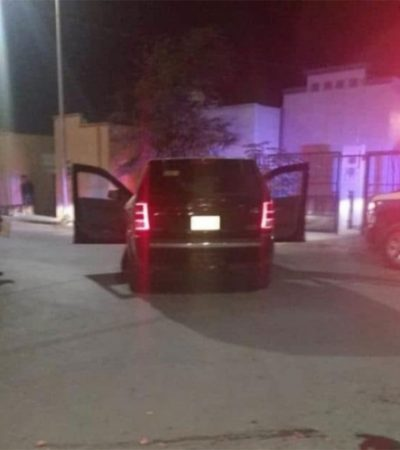 Muere bebé al caer de un vehículo conducido por su madre al dar una vuelta en 'U' en Nuevo León