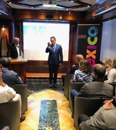VIAJE DE PROMOCIÓN EN EUROPA: Participa Carlos Joaquín en reuniones con touroperadores y mayoristas italianos