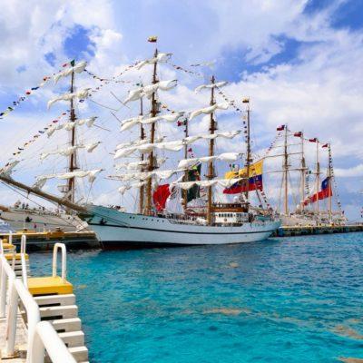 ESPECTÁCULO DE BARCOS EN COZUMEL: La Isla de las Golondrinas es reconocida como uno de los puertos más importante de América Latina