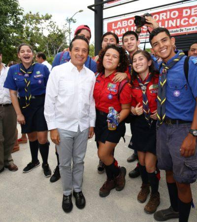 Inauguran en Cancún el Instituto Universitario de la Cruz Roja, el primero en su tipo en México
