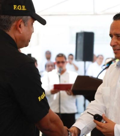 Carlos Joaquín pondrá en marcha la Base de Operaciones de la Secretaría de Seguridad Pública en Playa del Carmen