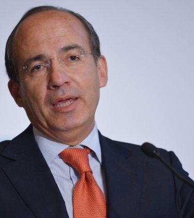 Critica Calderón 'verbo' y ambigüedad del Papa Francisco en comentario sobre Nicaragua