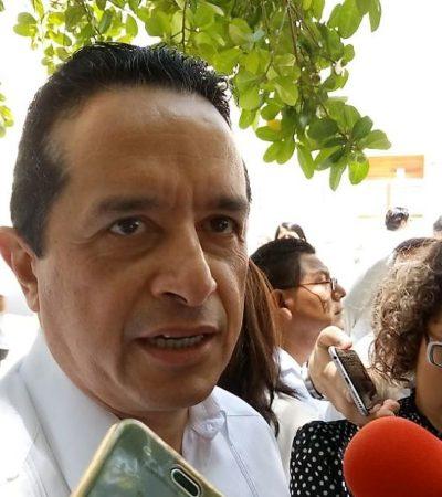 Carlos Joaquín recomienda al PAN ponerse a trabajar y dejar de repartir culpas por los errores cometidos durante la elección pasada