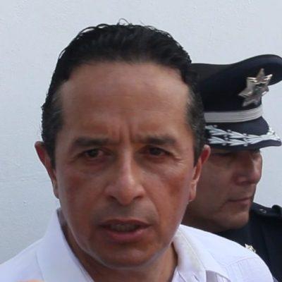 Carlos Joaquín asegura que trabajan en coordinación con la SCT para desarrollar el proyecto del Tren Maya
