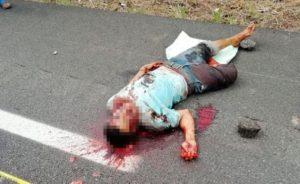 Matan a otro presunto atracador de caminos en Tabasco; se presume 'barrida' a manos de justicieros