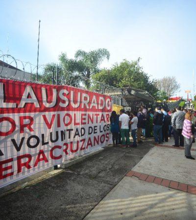 Desiste Yunes de nombrar magistrados ante cierre de Congreso por diputados morenistas