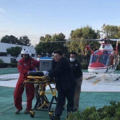 Trasladan corazón de donante en Tapachula a receptor internado en hospital de la CDMX