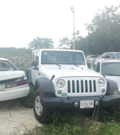 Acusan al Ayuntamiento de Cozumel de opacidad al querer dar de baja vehículos