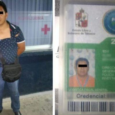 Sorprenden a policía de investigación en auto robado a 15 días de la disolución del Grupo de Operaciones Especiales de la FGE