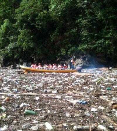 COLAPSA RÍO GRIJALVA POR SÓLIDOS: Incumplen 14 de 16 municipios de Chiapas acciones de conservación de la Cuenca del Cañón del Sumidero