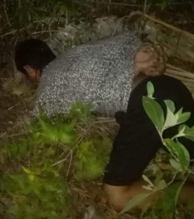 Con dos balazos en la cabeza, aparece ejecutado en la Región 259 de Cancún