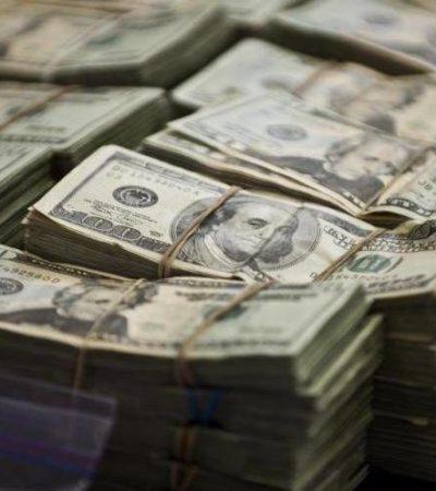 Aseguran en Campeche más de 1.5 millones de dólares, 141 kilos de cocaína y mil 500 cartuchos