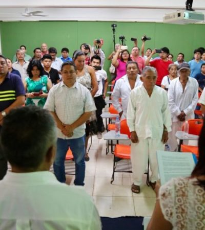 Piden disculpas públicas al ex Rector Francisco Rosado May por violación de sus derechos humanos por parte de autoridades de la Universidad Intercultural Maya de Quintana Roo