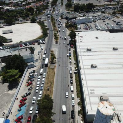 CAMBIO DE CIRCULACIÓN EN AVENIDAS DE CANCÚN: A partir del lunes 13 de agosto, se implementará el programa unidireccional sobre la avenida Xcaret hacia la Kabah y la Zona Hotelera
