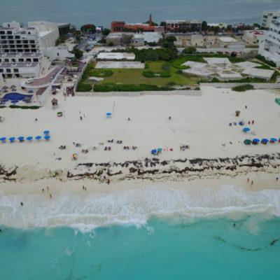 LAS TRES 'PAPAS CALIENTES' QUE RECIBE MARA LEZAMA: Lote 19 de Playa Marlín y recursos para Seguridad Pública