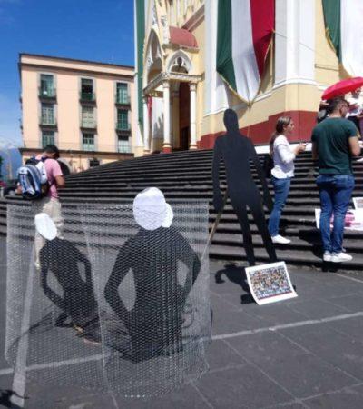 No cesan desapariciones en Veracruz dicen colectivos al conmemorar el 'Día Internacional de las Víctimas de las Desapariciones Forzadas'