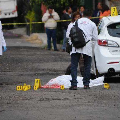 Matan a hombre de al menos ocho disparos de arma de fuego frente a sus hijos en la CDMX