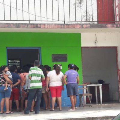 Por fallas en el alumbrado público, habitantes de Dziuché se manifiestan contra el alcalde