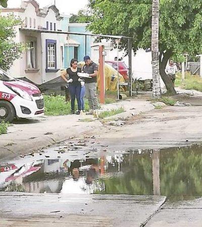 Cazan sicarios a taxista y lo ejecutan antes de abordar su unidad en Coatzacoalcos