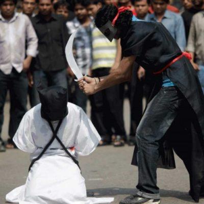 Arabia Saudita decapita y crucifica a feminicida en la ciudad santa musulmana de La Meca