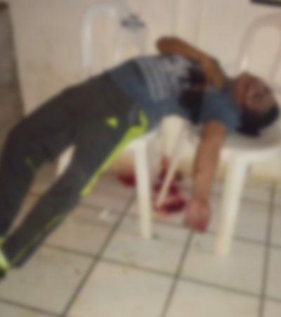Asesinan par de sicarios al hijo del juez municipal de Hueyapan de Ocampo en Veracruz