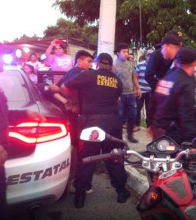 Intenta el 'Gato' robar una moto y luego se refugia en su domicilio protegido por su madre