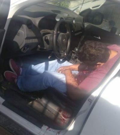 Ultiman a empresario cuando abordaba su vehículo a escasos metros de su domicilio