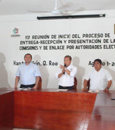 Nivardo Mena, presidente electo de Lázaro Cárdenas presentó a su equipo de transición para el proceso de entrega-recepción