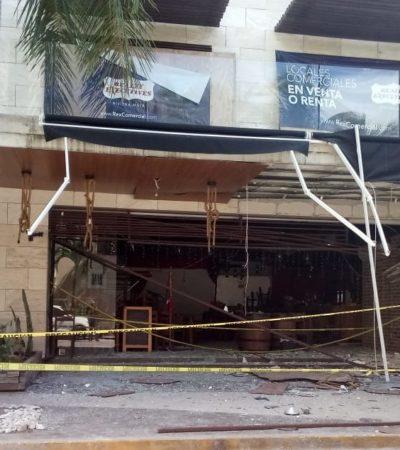 SEGUIMIENTO | Investigan causa de explosión en bar de Playa; acusan supuesto bombazo