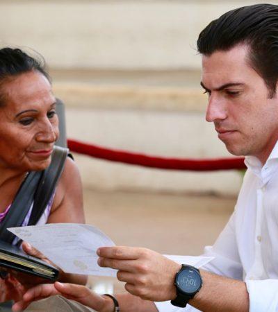 Destaca Remberto el programa 'Alcalde Contigo' para acercar servicios municipales y como mecanismo de diálogo con cancunenses