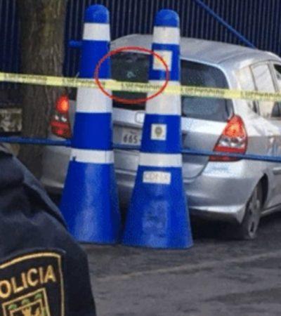 Disparan policías y matan a conductor durante persecución por incidente vial en la CDMX