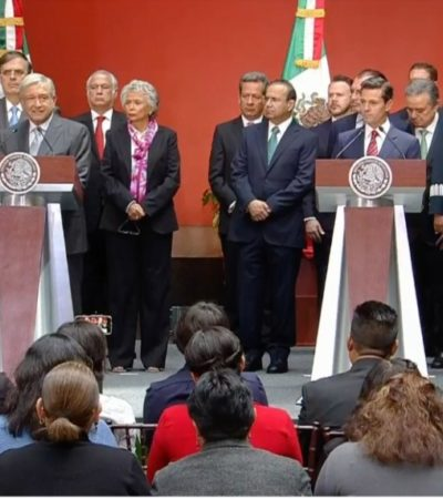 Ratifica AMLO que reforma educativa de Peña quedará en mera propaganda; será cancelada