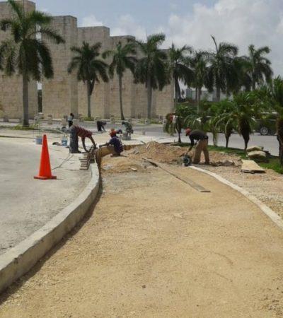 Contraloría del Estado supervisa la construcción de ciclovías en Cancún
