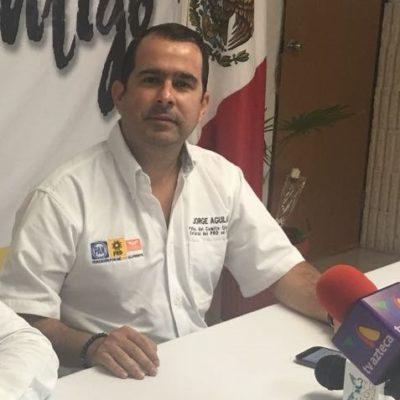 Oficializa Jorge Carlos Aguilar Osorio solicitud de licencia a la dirigencia del PRD