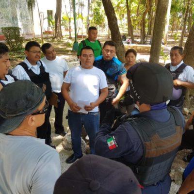 Policías de Cancún retoman protestas por omisión del pago de Fortaseg